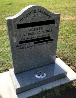 Headstone 14