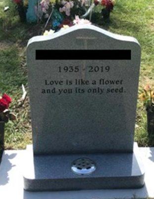 Headstone 16