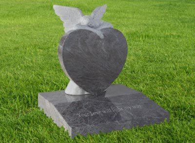 Heart Style Memorials